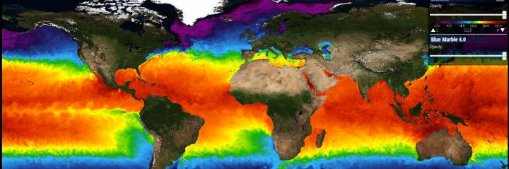 Mapa temperaturas del mundo